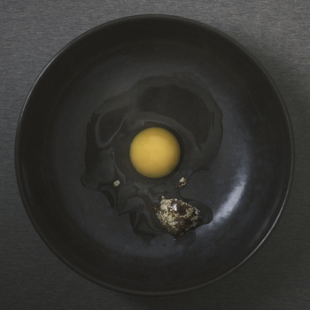 Menu designové talíře New Norm Dinnerware Wooden Plate (2 kusy)