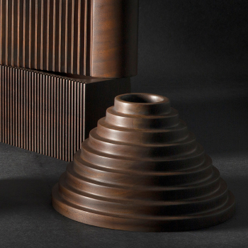 Ethnicraft designové dekorace Espresso Babylon object