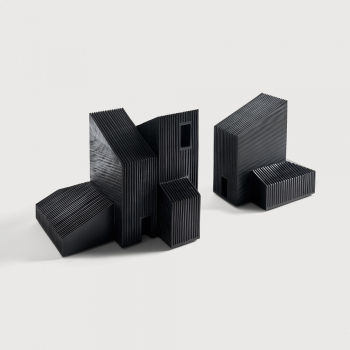 Ethnicraft designové dekorace Black Modern Farm House object