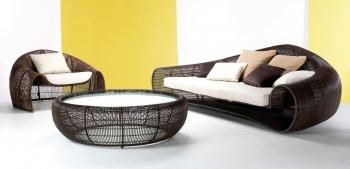 Kenneth Cobonpue sedačky Croissant Sofa
