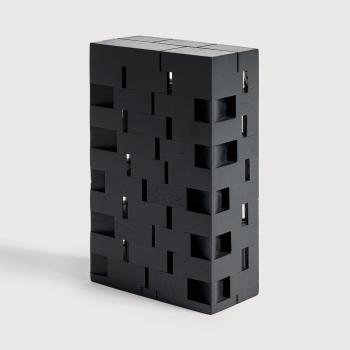 Ethnicraft designové dekorace Black Urban House object