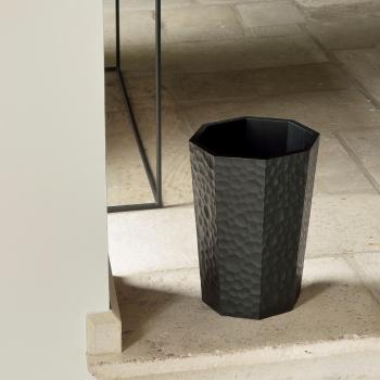Ethnicraft designové odpadkové koše Black Chopped waste paper basket