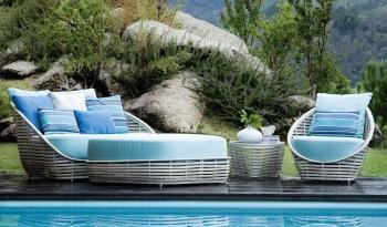 Kenneth Cobonpue zahradní křesla Oasis Lounge Chair
