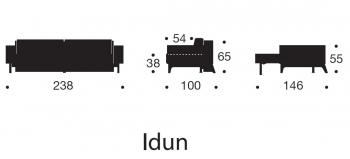 INNOVATION sedačky Idun