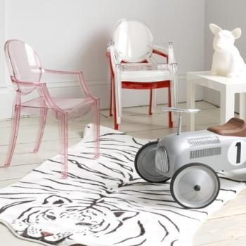Kartell designové dětské židle Lou Lou Ghost