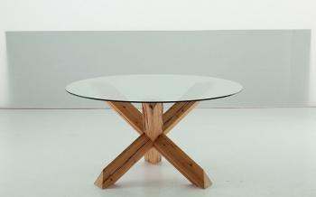 SEDIT jídelní stoly Travo Round (průměr 140 cm)