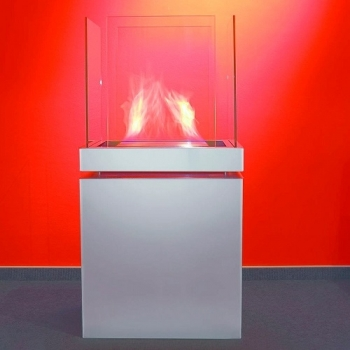 Radius designové krby Semi Flame 3,0l