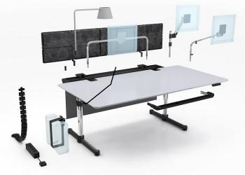 USM Designové stoly Kitos  Meeting 225 x 100cm