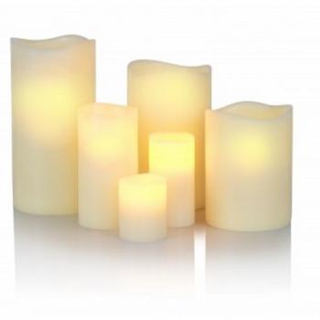 KLEIN & MORE Designové stolní lampy Electronic candle color