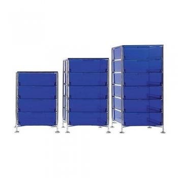 Kartell designové kancelářské kontejnery Mobil (1x zásuvka)