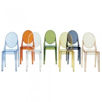 Kartell designové židle Victoria Ghost