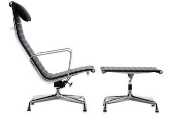 Vitra designové podnožky Aluminium Group Ottoman Ea 125