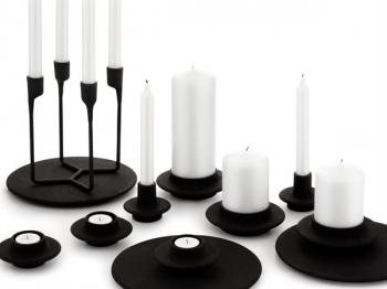 Normann Copenhagen designové podložky pod svícny Heima Plate