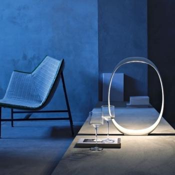 Výprodej Foscarini designové stolní lampy Anisha (malá, bílá)