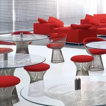 Knoll designová křesla Platner Side Chair