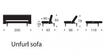 INNOVATION sedačky Unfurl