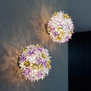 Kartell designová nástěnná svítidla Bloom Small