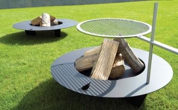 Radius designové grily Fireplate (průměr 75 cm)
