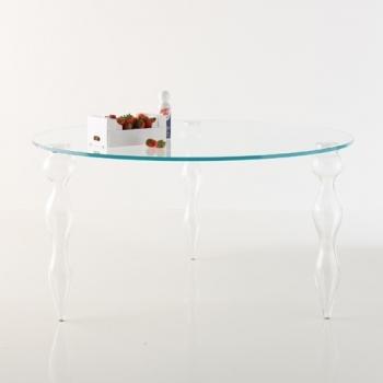 MINIFORMS jídelní stoly Blow Round (průměr 150 cm)
