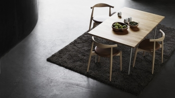 Carl Hansen židle Ch20 Elbow Chair - Buk