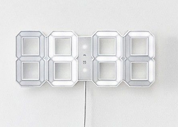 Designové nástěnné hodiny Kibardin Clock