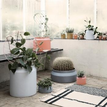 Výprodej Ferm Living designové květináče Pot Ochre