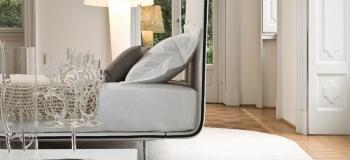 Bonaldo postele Thin (pro matraci 180 x 200 cm)
