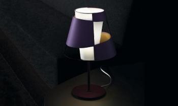 PALLUCCO stolní lampy Crinolina Tavolo