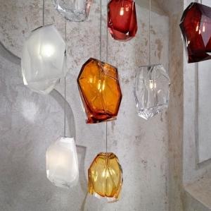 LASVIT Závěsná svítidla Crystal Rock