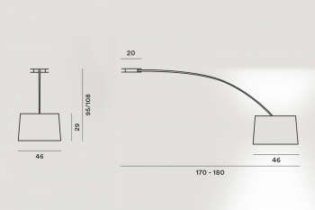 Foscarini designová závěsná svítidla Twiggy Soffitto