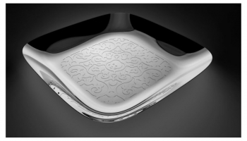 Alessi designové podnosy Dressed Square Tray