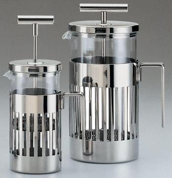 Alessi designové press filter kávovary Rossi