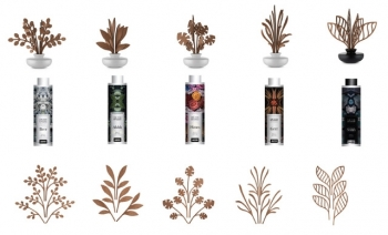 Alessi aroma listy pro difusér The Five Seasons Diffuser Leaf