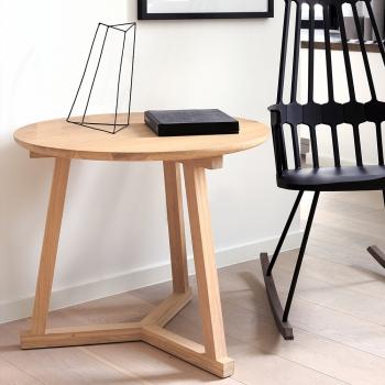 Ethnicraft designové odkládací stoly Tripod Side Table