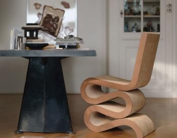 Vitra designové židle Wiggle Side Chair