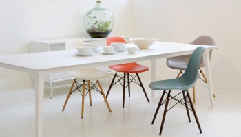 Výprodej Vitra designové židle DSW (zelená)