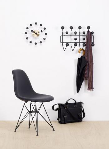 Výprodej Vitra designové židle DSR (černý sedák, chromová podnož)