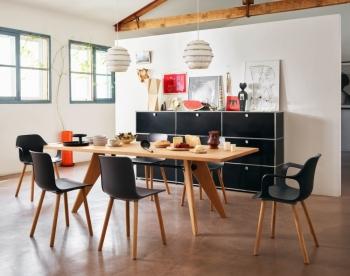 Vitra designové židle Hal Wood