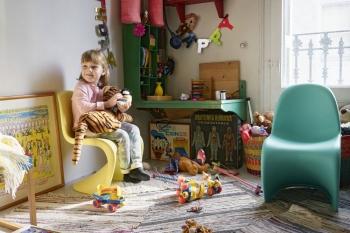 Vitra designové dětské židle Panton Junior