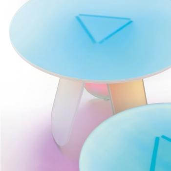 Glas Italia odkládací stolky Shimmer