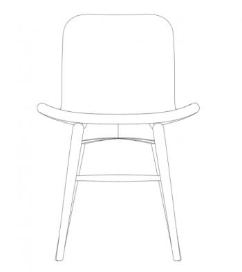 Norr 11 designové židle Goose Original dining chair