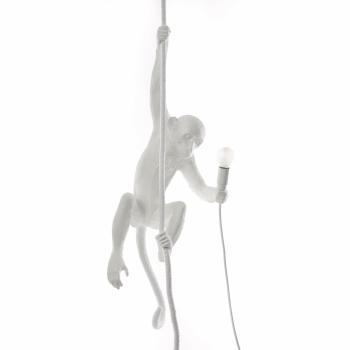 Výprodej Seletti designová závěsná svítidla Monkey Závěsná (bílá)