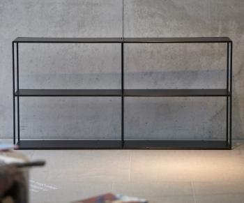 Jan Kurtz designové knihovny Home - rozšiřovací elementy 1x2