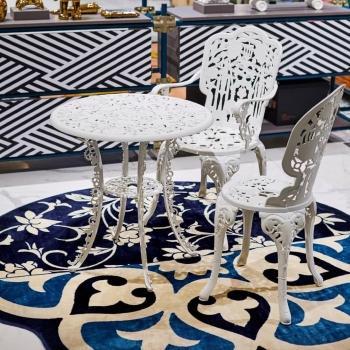 Seletti designová zahradní křesla Aluminium Armchair Industry Collection