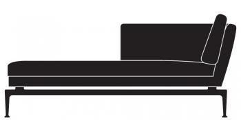 Vitra designové platformy Suita Platform (šířka 125 cm)