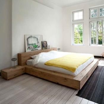 Ethnicraft postele Madra Bed (pro matraci 160 x 200)