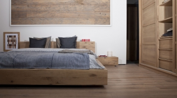 Ethnicraft postele Madra Bed (pro matraci 180 x 200)