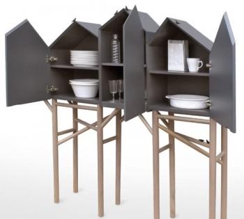 Seletti designové skříňky Palafitt - 2 doors