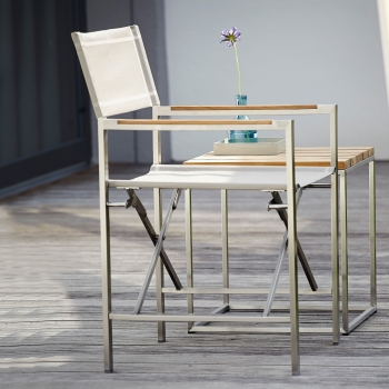 Jan Kurtz designové zahradní židle Lux regie