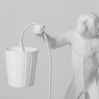 Seletti designové stolní lampy Monkey Sedící